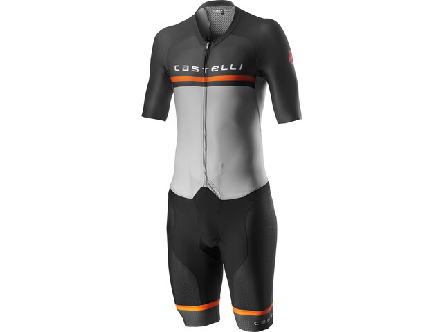 Castelli Sanremo 4.0 Combinaison Speed Homme, silver/gray